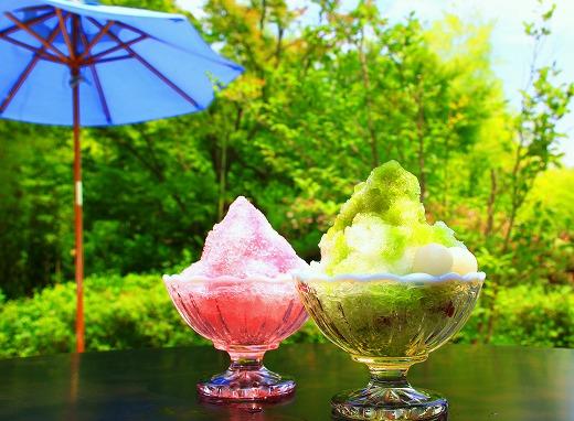 暑い夏にはぜひ食べたいカキ氷ですね
